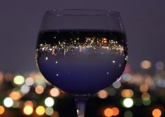 *The world in your wine glass. ( :