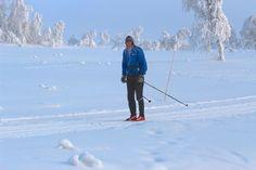 <p>BEITOSTØLEN: Ned mot minus 15 grader i løypene i dag, men fortsatt folk på tur i løypene.<br/></p>