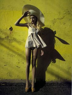 Fashion photography - it was all yellow -monstylepin