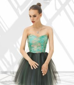 Sukienka tiulowa gorsetowa okpl ubrania monnom boutique