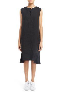New Y'S BY YOHJI YAMAMOTO S-Pleats Side Pocket Dress fashion online. [$960]?@shop hoodress<<
