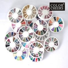 QINF 20 PCS Nail Art Decoration Wheels ** Check this awesome product by going to the link at the image.