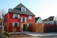 Straßenansicht - Haus S.- Ehemaliges Bürgermeisterhaus in Farbe