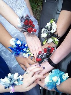 keepsake bracelets  - something to keep after the flowers die to help you remember your prom night!