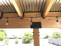 Building A Covered Patio with Simpson Strong Tie. #diy #coveredpatio #outdoorliving