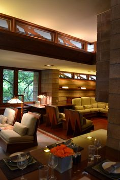 Exquisite Usonian House in Issaquah, Washington, by Frank Lloyd Wright.  Photos…