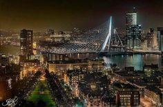 Rotterdam bij nacht !