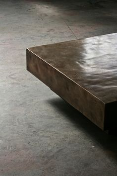 Metal coffe table - Designed by Based Upon, London.