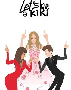 "Haha, basically the whole episode of ""Let's have a Kiki"""