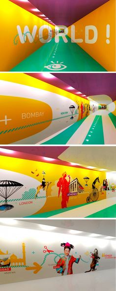 Señaletica Piercing b dazzle piercing Parking Design, Signage Design, Branding Design, Environmental Graphic Design, Environmental Graphics, Office Graphics, Centre Commercial, Office Branding, Wayfinding Signage