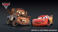 'Cars 2' Character Photo Gallery and Posters: 'Cars 2' Photo: Mater and Lightning McQueen