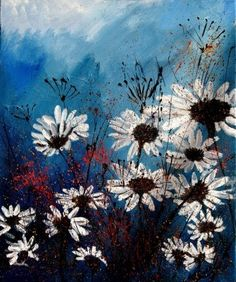 Daisys. An oil painting. #art #etsy $750
