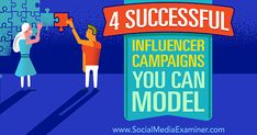 4 Successful Influencer Campaigns for your business - No Web Agency