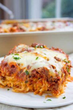 Baked Million Dollar Spaghetti | Community Post: 15 Delicious Homemade Dinners…