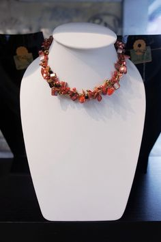 Shell and Freshwater pearl necklace