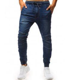 Pánska džínsové jogger nohavice modré Jeans, Fashion, Moda, Fashion Styles, Fashion Illustrations, Denim, Denim Pants, Denim Jeans