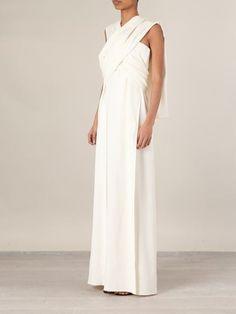 Maison Rabih Kayrouz Wrap-tie Empire Line Gown - Alothman - Farfetch.com