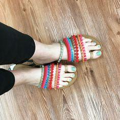 "1,867 Likes, 86 Comments - Whoa, wait. Walmart? (@whoawaitwalmart) on Instagram: ""Resort-wear sandals!💕💃🏻 By Big Buddha, under $17 in stores!!! (Didn't see them online.)…"""