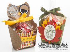 Thanksgiving French Fry Box