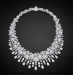 Diamond Flower Necklace by Graff! #Luxury #Necklace #Jewelry #Bling - Gryphon Nest - Google+