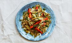 Meera Sodha's caramelised fennel, carrot and mung bean salad | vegan
