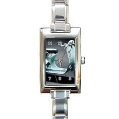 LSG016 VESPA Rectangula r Italian Charm Watch for Women Fashion Hot Gift NEW * Want to know more on the watch, click on the image.