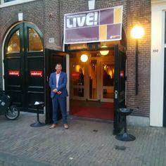Marcel Roozeboom tijdens Het Managementboek van het Jaar-gala, wederom in Amsterdam, was gezellig en een mooi moment om lekker bij te praten met oude bekenden. #marcelroozeboom #futurouitgevers