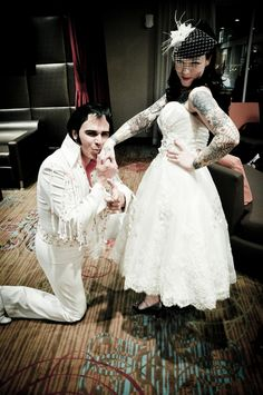 Have Elvis perform your wedding, and serenade the guests