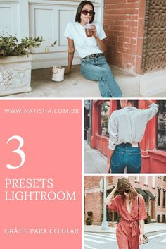 PRESET LIGHTROOM GRÁTIS PARA CELULAR - SUMMER DAY - NATISHA NA MODA Presets Do Lightroom, Lightroom Gratis, Photoshop, Look Boho, Retro, Pictures, Photography, Presents, Baby Groot
