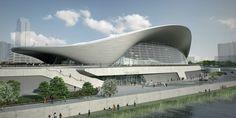 Zaha Hadid's London Aquatics Centre