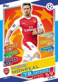 ARS 17-Alexis Sanchez-Arsenal FC Topps Ligue des Champions 2016//17