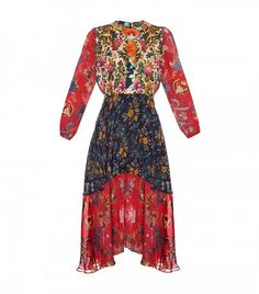 Duro Olowu is our go-to designer for pretty but edgy floral dresses.