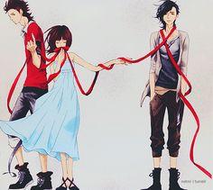 "Sukitte Ii na yo by notmi on deviantART(say ""I love you"") Love this anime!!!!!"