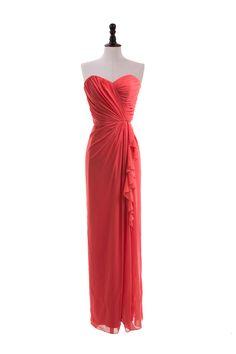 Sweetheart Dress with Bias Side Ruffle Skirt Bridesmaid dress?