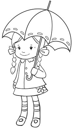 Crissy and Umbrella