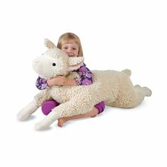 Snuggle Lamb Body Pillow