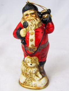 Christmas Reproductions Inc Ornament Hello Santa C 1898