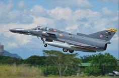 KFIR aircraft at the Colombian Air Force base La Dorada