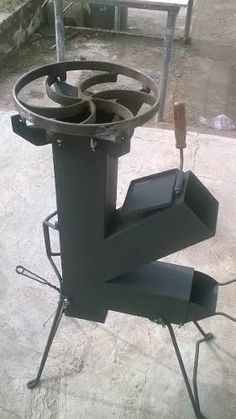Cocina Cohete/rocket Stove- Totalmente Desarmable - $ 1.990,00 ♦️️More Like This At Fosterginger At Pinterest♦️️