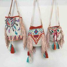 Wayuu crochet bags patterns