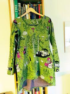 Tunic made from Vanja Sea interlock fabric http://www.vanjasea.fi