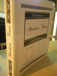 History Timeline Notebook