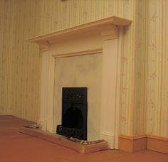 fireplace miniature