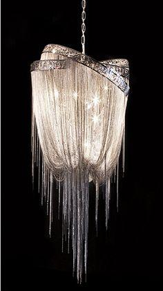 Chain mail chandelier, hudson ?