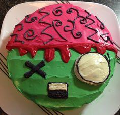 Zombie Birthday Cake Cookies Pinterest Birthday cakes