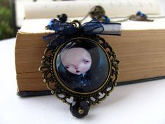 LUCCIOLE necklace by Dilkabear on Etsy, €40.00