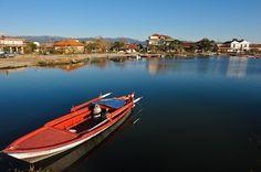 Αμβρακικός - Ο οικισμός Μπούκα Αμφιλοχίας Boat, Dinghy, Boats, Ship