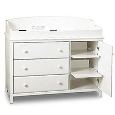 Creations Baby Summers Evening Combo Dresser   Rubbed White   Traditional   Changing  Tables   By Hayneedle | A Pea In The Pod | Pinterest | Traditional ...