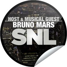 "You won't be ""Locked Out of Heaven"" since you are watching Bruno Mars host and perform on SNL! Thanks for watching Saturday Night Live tonight! Share this one proudly. It's from our friends at NBC."