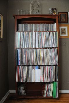 Records.love this collection and shelf